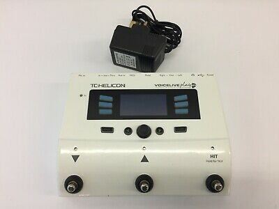 Genuine TC Helicon Voicelive Play GTX Vocal Harmony And Effects Pedal • 160£