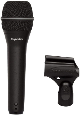 Superlux TOP-258 Professional Vocal Mic Series- Supercardioid Dynamic Microphone • 50.24£