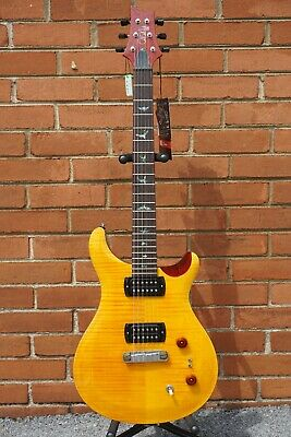 2020 Paul Reed Smith Paul's Guitar SE Amber Tobacco Back Electric Guitar & Bag • 768.55£