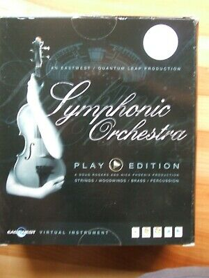 Symphonic Orchestra Eastwest Samples DVDs GOLD • 77£