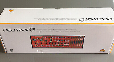 Behringer Neutron Semi Modular Analogue Synthesizer - NEW • 234.95£
