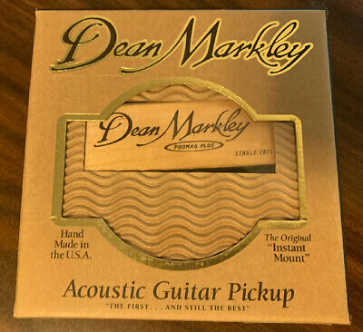 Dean Markley ProMag Plus Acoustic Guitar Pickup 3010, NEW in Box !