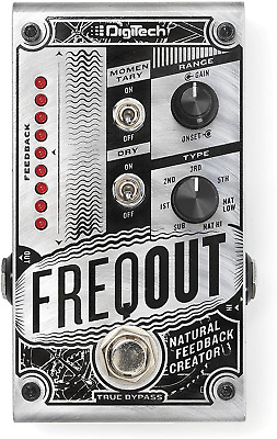 DigiTech DIG0182 FreqOut Natural Feedback Creator Guitar Effects Pedal • 149.52£