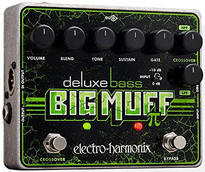Electro-Harmonix Deluxe Bass Big Muff Pi Bass Effects Pedal • 142.17£