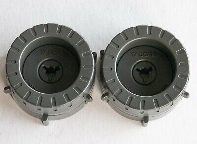 TWO **NEW** TASCAM TZ 1/2in Tape NAB Hub Adapters 5740003400 TSR-8 38 TEAC 80-8 • 38.96£