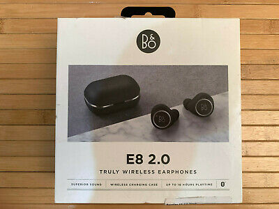 Bang & Olufsen(B&O) BeoPlay E8 2.0 Truly Wireless Earbuds  Black - Boxed • 124.99£