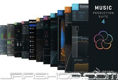 iZotope Music Production Suite 4 Upgrade from MPS 3 eDelivery JRR Shop