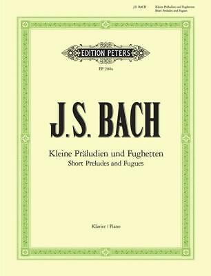 24 Short Preludes And Fugues For Piano  Piano Johann Sebastian Bach Book Only EP
