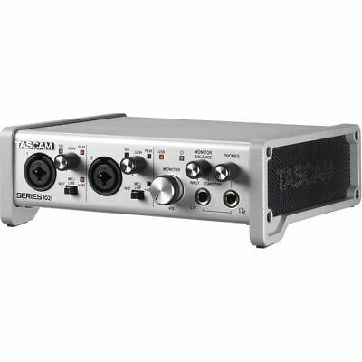 Tascam SERIES 102i 10 IN/2 OUT USB Audio/MIDI Interface • 233.63£