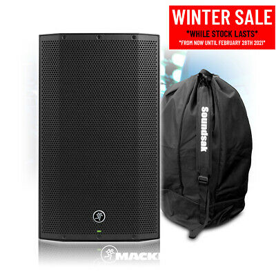 Mackie Thump12A V4 Active DJ PA Speaker 12  1300w Powered Sound System With Bag • 265£