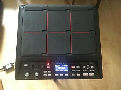 Roland SPD-SX Sampling Pad W/Stand, Softcase + RT-30HR & RT-30K Triggers • 600£