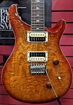 PAUL REED SMITH SE CUSTOM 24  2020 Exotic Top Burled Ash Electric Guitar Vintage • 606.37£