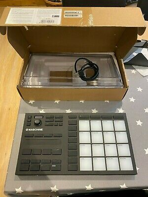 Native Instruments MASCHINE MIKRO Mk3 + Plus Dust Cover And NI Soundpacks • 100£