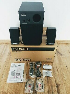 YAMAHA GNS-MS01 Speaker Set For Genos Keyboard. Boxed • 175£