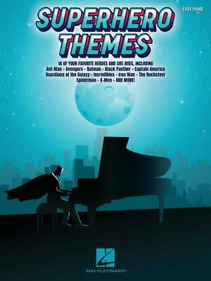 Superhero Themes 14 of Your Favorite Heroes and She-Roes Easy Piano  Book Only H