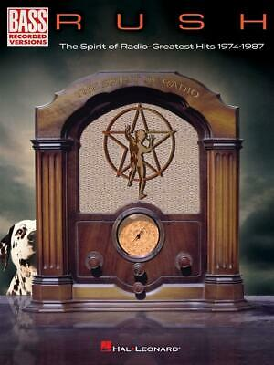Rush-The Spirit of Radio: Greatest Hits 1974-1987  Bass  Book Only HL00323856