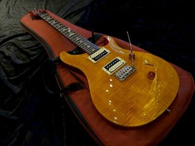 Used Paul Reed Smith Prs Se Custom 24 Amber Guitar *Mij762 • 554.25£
