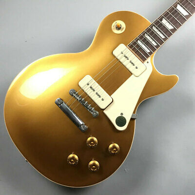Gibson Les Paul Standard 50S P90 Gold Top Guitar *Ued834 • 2,504.87£