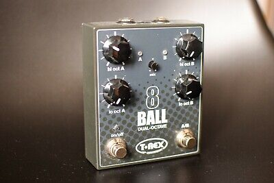 T-Rex 8-Ball Dual Octave Pedal Twentieth Anniversary Limited Edition • 77£