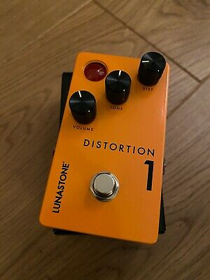 Lunastone Distortion 1 Guitar Pedal • 26£