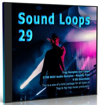 5700 Trap Loops Collection Beats WAV Loops Music Samples FLStudio MPC Logic Live • 3.10£