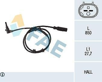Replacement FAE Front ABS Sensor 78112 • 36.24£