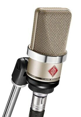 New Neumann TLM-102 Large-Diaphragm Cardioid Condenser Microphone - Nickel • 511.30£