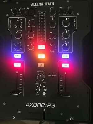 Allen & Heath Xone:23 Professional 2 Channel DJ Mixer With Filters • 200£