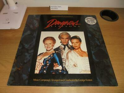 DANGEROUS LIAISONS - Original Motion Picture Soundtrack - Vinyl LP George Fenton • 9.95£
