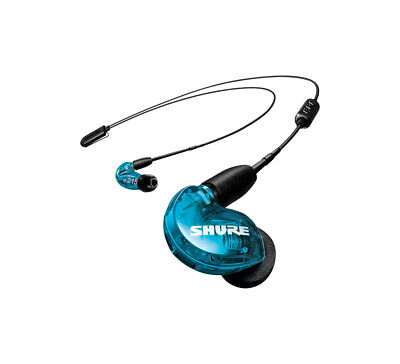 Shure SE215 Headset In-ear Black,Blue - SE215SPE-B+UNI-EFS - 22Hz - 17.5kHz, 107 • 119.15£