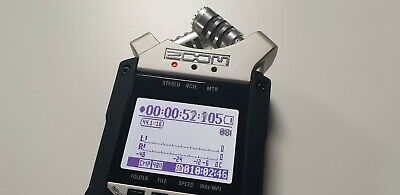Zoom H4n PRO Handy 4 Track Channel Portable Digital Audio Field Recorder • 145£