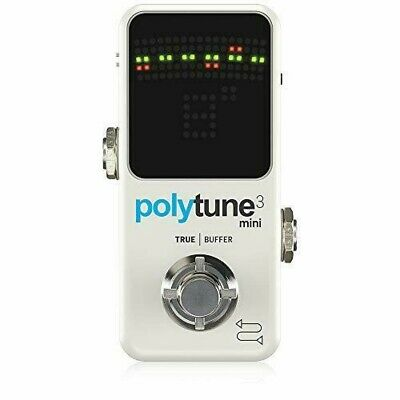 Tc Electronic Polyphonic Mini Tuner POLYTUNE 3 MINI Genuine National • 64.68£