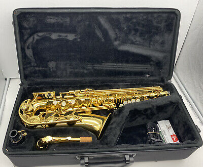 Yamaha YAS-280 Alto Saxophone Gold Lacquer Edition + Case & More | FAST SHIPPING • 774.95£