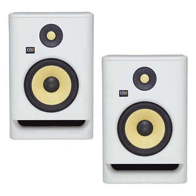 KRK RP5 Rokit 5 G4 Pro Bi-Amp 5  Powered Studio Monitors, White Noise - Pair • 261.87£