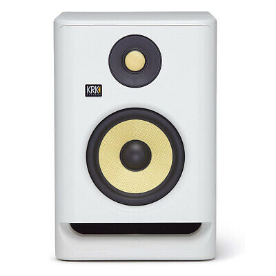 KRK RP5 Rokit 5 G4 Professional Bi-Amp 5  Powered Studio Monitor (White) • 130.93£