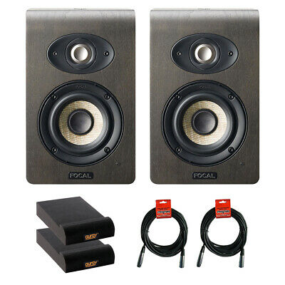 Focal Shape 40 Studio Speaker Monitor, Pair W/ 2x Isolation Pad & 2x Cable Kit • 872.80£