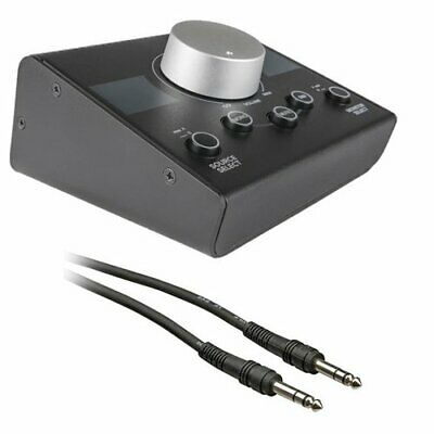 Mackie Big Knob Passive Studio Monitor Controller With 1/4  Male Phone To 1/4  M • 51.56£