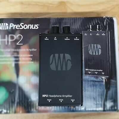 PreSonus HP2 Personal Stereo Headphone Amplifier Stereo / Dual Mono  • 65£
