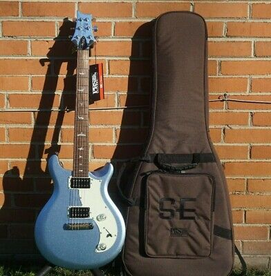NEW 2021 Paul Reed Smith PRS SE Mira Frost Metallic Blue Electric Guitar & Bag • 503.51£