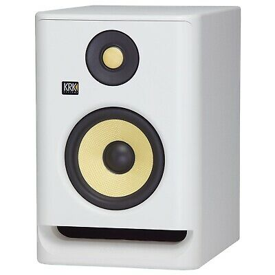 KRK RP5 ROKIT G4 Bi-amp Studio Monitor - Limited White Noise Edition • 130.93£