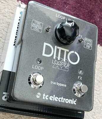 TC Electronic DITTO X2 LOOPER - Excellent Condition, Boxed With Original Content • 26£