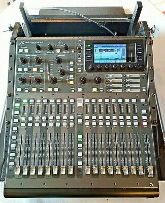 Behringer X32 Producer 40 Input Digital Mixer In Flight Case With Braked Wheels • 840£