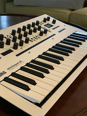 Korg Minilogue XD Polyphonic Analogue Synthesizer - Limited Edition Pearl White • 314.53£