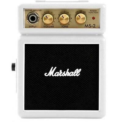 Marshall MS-2 Micro Amp in Limited Edition White