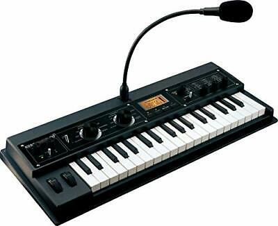 Korg MicroKORG XL+ 37Key Keyboard Synthesizer Vocoder With Expanded PCM Black • 423.45£