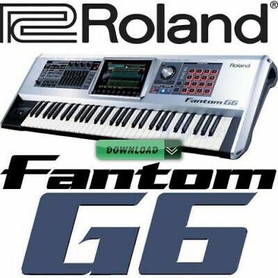 Sounds SET Oriendal 2021 For Roland Fantom G6 • 91£