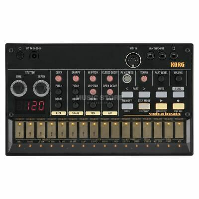 Korg Volca Beats Drum Machine With Fixed Snare, MIDI Out And Decksaver Cover • 170£