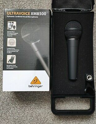 Behringer XM8500 ULTRAVOICE Dynamic Cardioid Vocal Microphone Grade A New • 19.99£