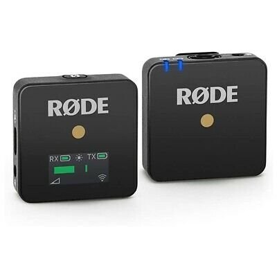 Rode Wireless Go Compact Wireless Microphone System (Black) • 179£