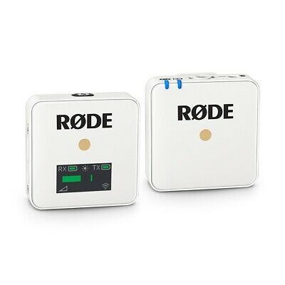 Rode Wireless Go Compact Wireless Microphone System (White) • 179£